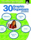 30 Graphic Organizers for the Content Areas Grades 3-5 (PDF+)