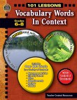 101 Lessons: Vocabulary Words in Context (PDF+)