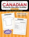 Canadian Character Ed Activities 2-3  (PDF+)